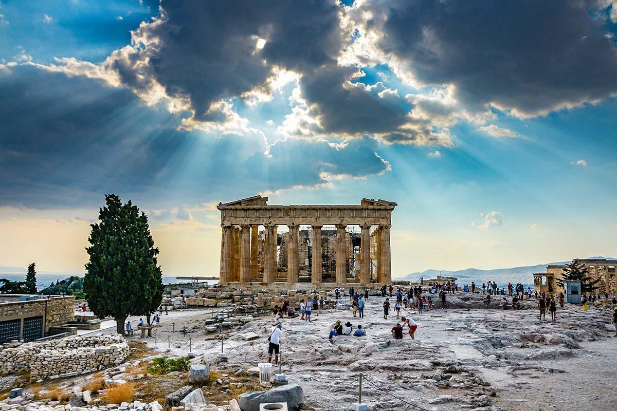 Parthenon, Acropolis, Athene